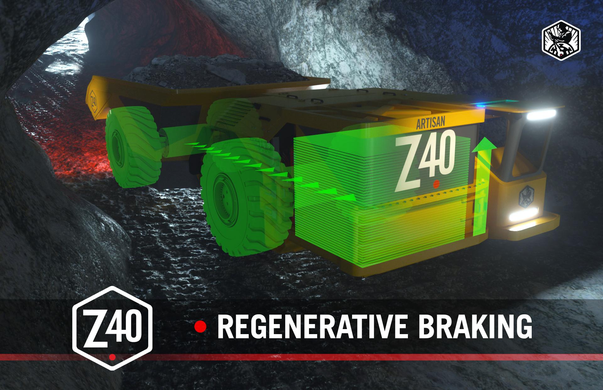Regenerative Braking In the Z40 Haul Truck